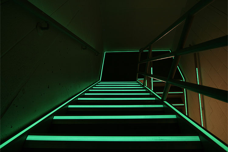 IKEA Landscape stair night