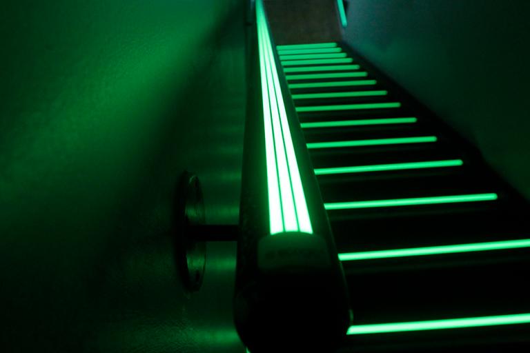 Self-Luminous-Egress-Path-Marking