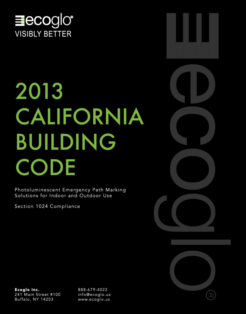 Ecoglo: 2013 California Building Code