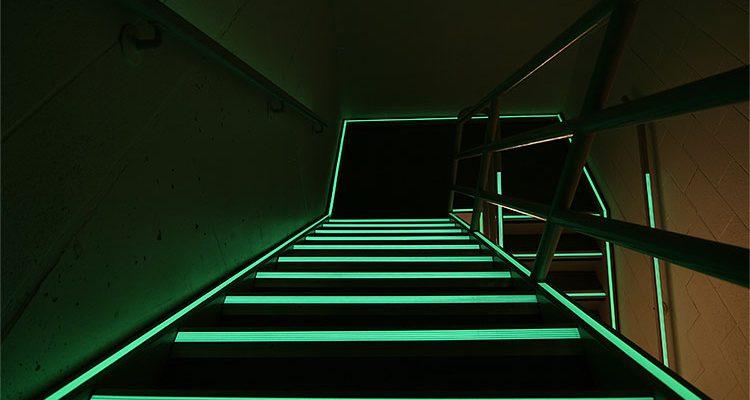 Ecoglo Photoluminesent Stairs