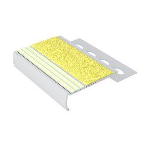 Ecoglo M4151.125 Luminous Metal Stair Nosing for Tile