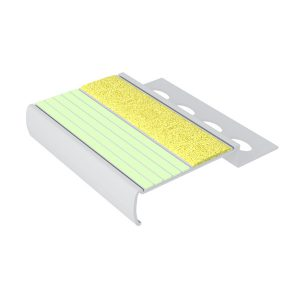 Ecoglo MA4151.125 Luminous Metal Stair Nosing for Tile