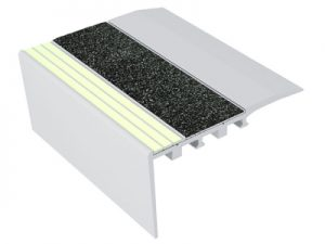 Ecoglo RC4-E30 Luminescent Stair Nosing for Carpet