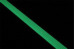 Ecoglo RC4-E40 Luminous Carpet Stair Nosing in Dark