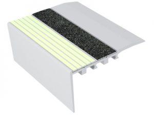 Ecoglo RC4-E40 Luminescent Stair Nosing for Carpet