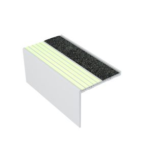 Ecoglo RFA7B151 Luminescent Resilient Flooring Stair Nosing