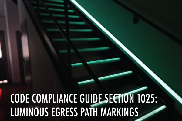 Blog on Section 1025 Luminous Egress Path Markings
