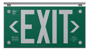 Ecoglo EXAL Architectural Luminescent Exit Sign