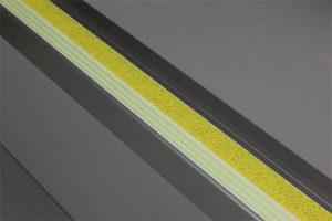 Ecoglo F4151 luminous Aluminum Flat Stair Nosing