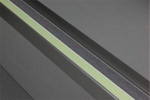 Ecoglo F4161 luminous Aluminum Flat Stair Thread