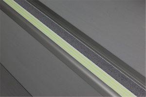 Ecoglo F5B161 luminous Flat Stair Nosing