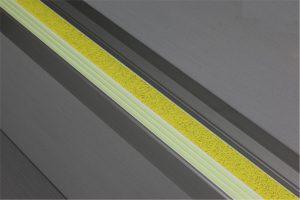 Ecoglo F6151 luminous Aluminum Flat Stair Nosing