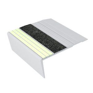 Ecoglo F6171 luminescent Aluminum Flat Stair Tread