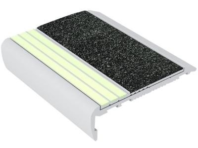 Ecoglo F7-E30 luminescent Flat Stair Treads