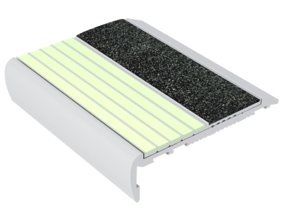 Ecoglo F7-E40 Aluminum Luminescent Flat Stair Treads