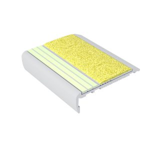 Ecoglo F7151 luminescent Metal Flat Stair Tread