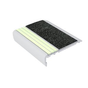 Ecoglo F7171 luminescent Aluminum Flat Stair Tread