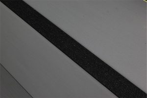 Installed Ecoglo N2070 Non Slip Black Stair Strip