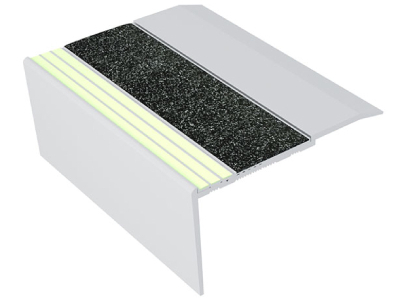Ecoglo RF7-E30 Aluminum Luminescent Flat Stair Treads