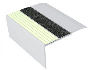 Ecoglo RF7-E40 Aluminum Luminescent Flat Stair Treads