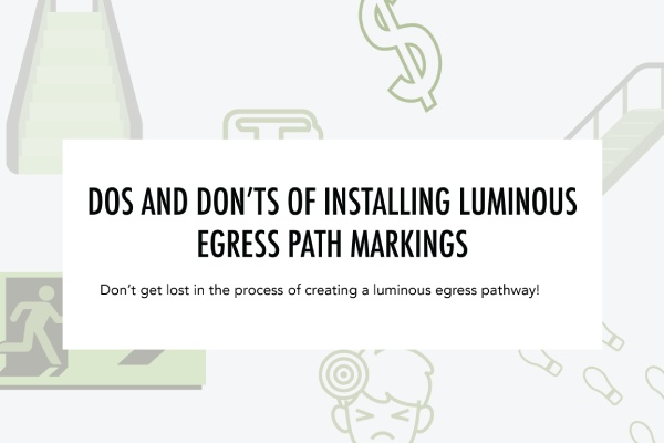 Blog on Do/Don't of installing Egress Path Markings