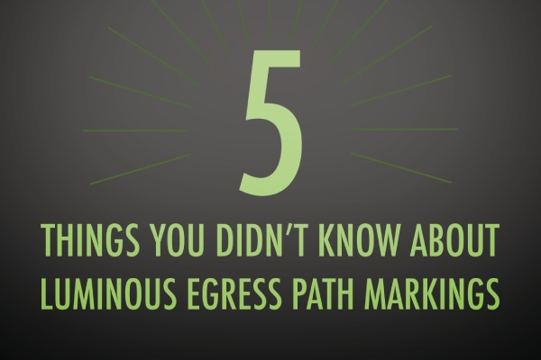 5 things you didn't know about Luminous Egress Path Markings