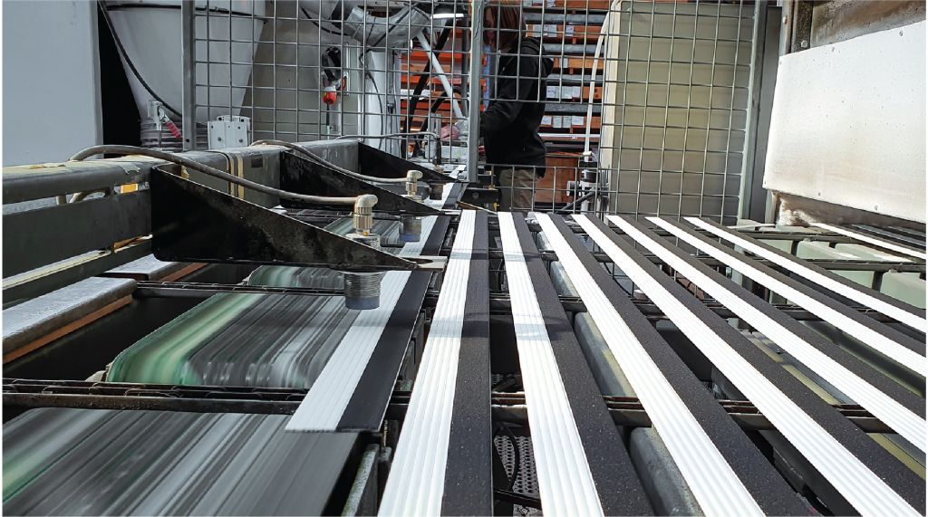 Ecoglo HTC manufacturing stair nosing