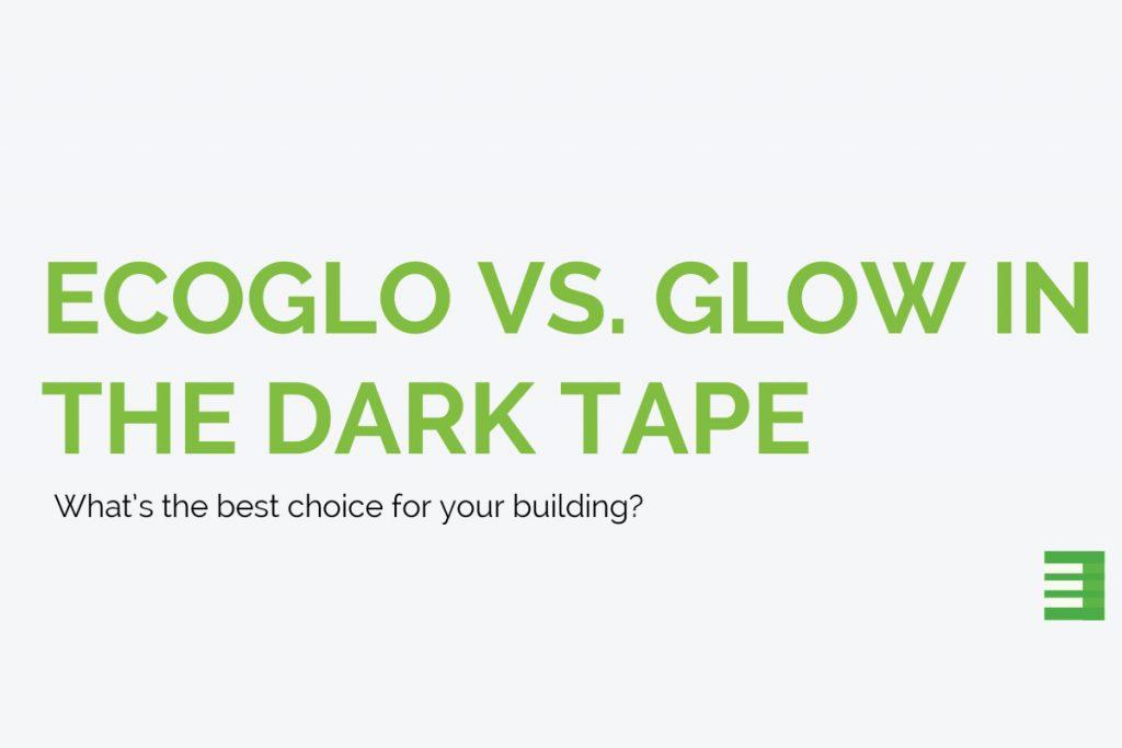 Ecoglo vs Glow in the Dark Tape
