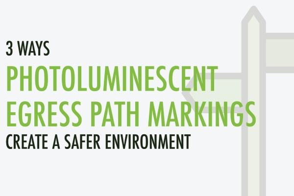 Luminous Egress Path Markings create safer environment Blog