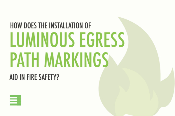 Blog Post: Egress path markings aid in fire safety