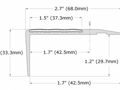 F4-N20_Flat Stair Nosings_Dimension