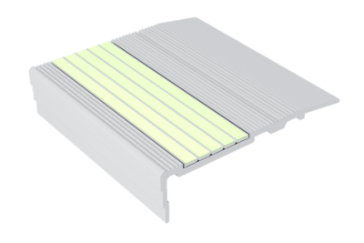 Luminous-Photoluminescent-Flat-Stair-Nosings-F3-G-Series